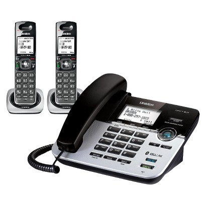 Uniden D3588-2  6.0 Corded/Cordless Phone with Digital Answerer and CELLLiNK™ Bluetooth® Connection