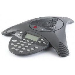Polycom SoundStation2, non-expandable, with display (2200-16000-001)